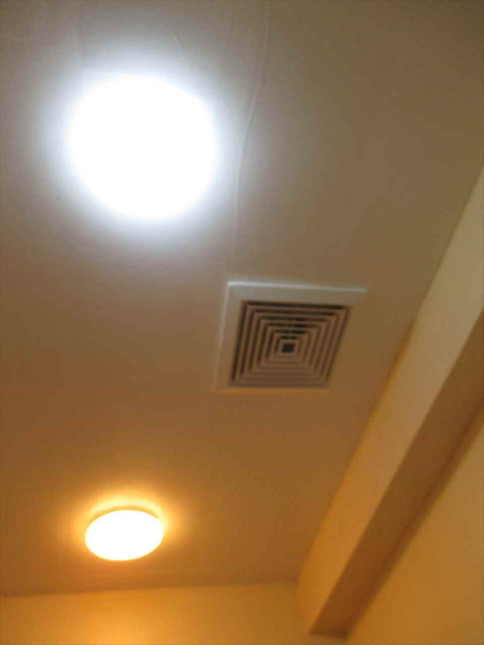 Exhaust fan of comfort room